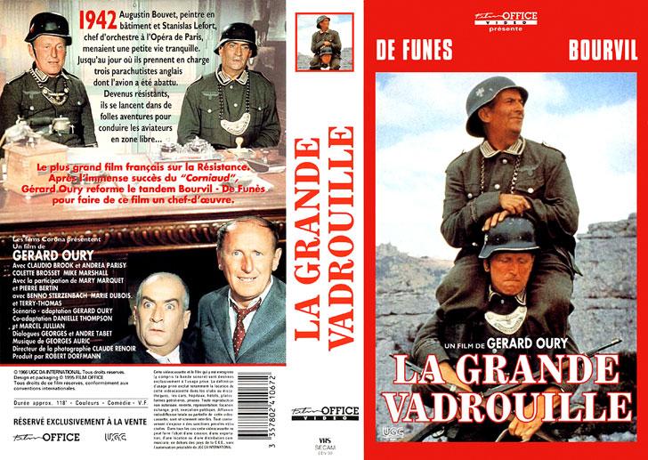 Jaquette VHS La Grande Vadrouille