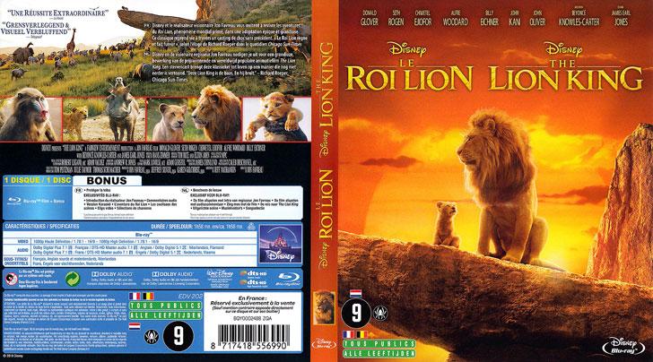Jaquette Blu-ray Le Roi lion