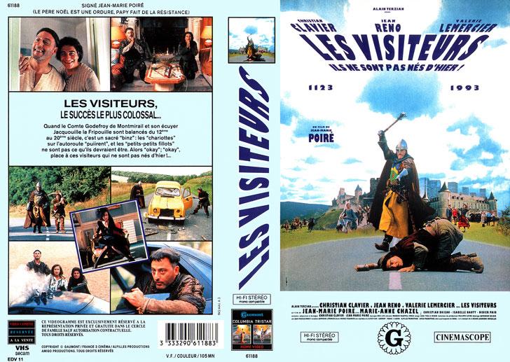 Jaquette VHS Les Visiteurs