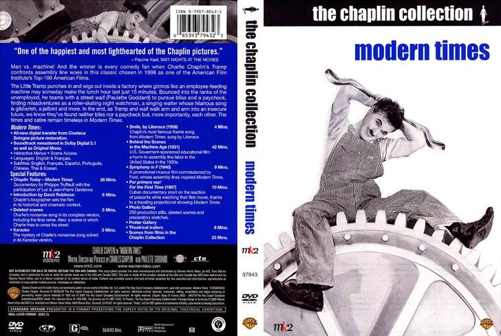 Jaquette DVD Modern Times
